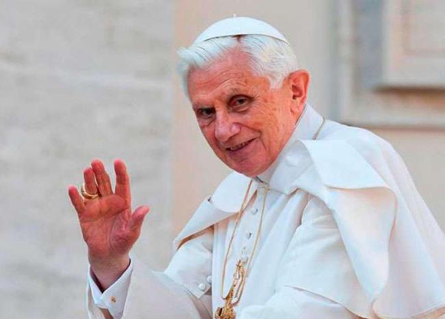 Benedicto XVI dice que el matrimonio homosexual es el «anticristo»