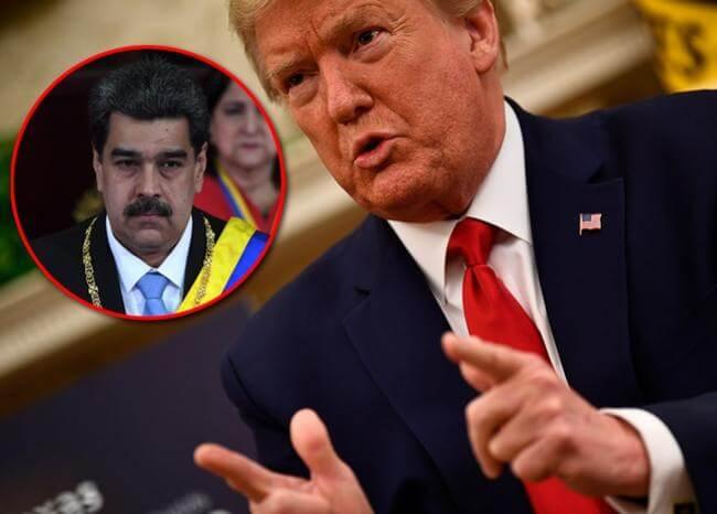 Yo no envío un 'grupito', sino un ejército para invadir: Trump sobre Venezuela