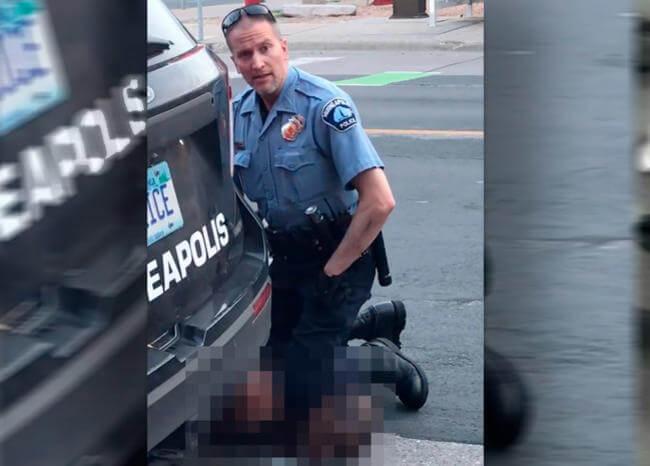 EE.UU. se indigna por muerte de afrodescendiente a quien policía asfixió brutalmente