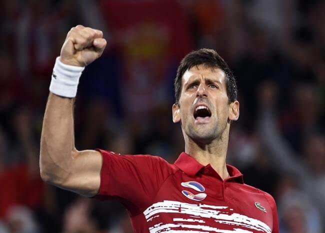 Djokovic se siente capaz de superar a Federer y batir récord de títulos de Grand Slam