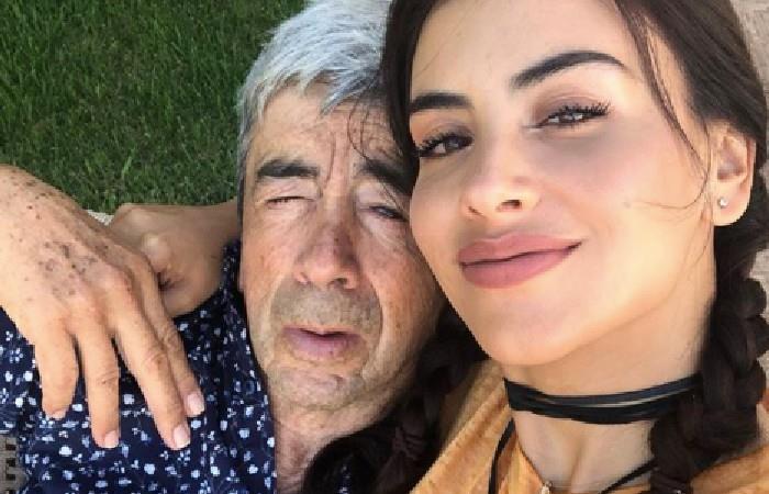 Conmovedor video de Jessica Cediel cortándole el cabello a su padre