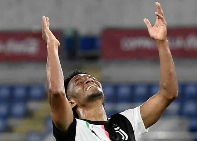 Cuadrado, uno de los más destacados en el triunfo de Juventus sobre Bolonia
