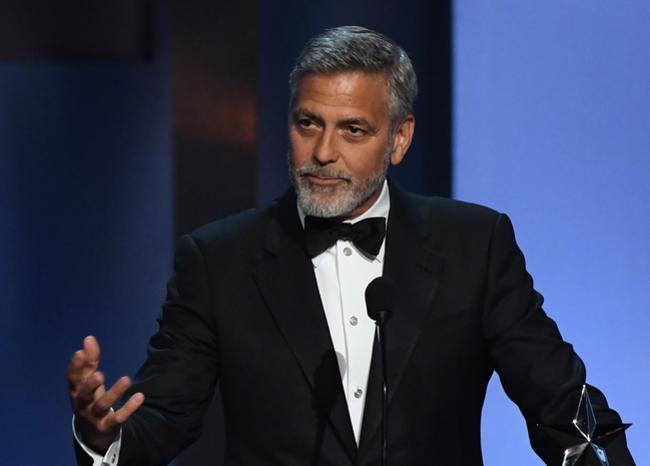 """""""El racismo es la verdadera pandemia de Estados Unidos"""": George Clooney"""