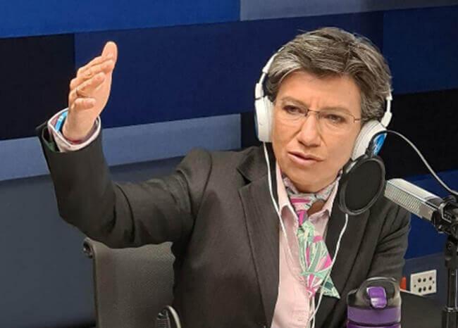 """Nos esperan siete semanas muy difíciles"": Claudia López"