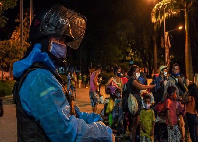 Finaliza traslado de venezolanos desde Bucaramanga hacía la frontera