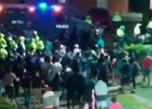 Video: intentan linchar a presunto violador de una niña de 7 años en Bogotá