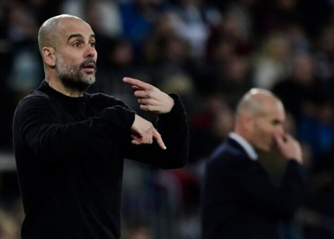 Pep Guardiola elogia a Zidane previo al duelo Manchester City-Real Madrid en Champions