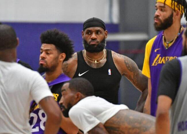 Buena noticia en la NBA: todos los jugadores dieron negativo en prueba de COVID-19