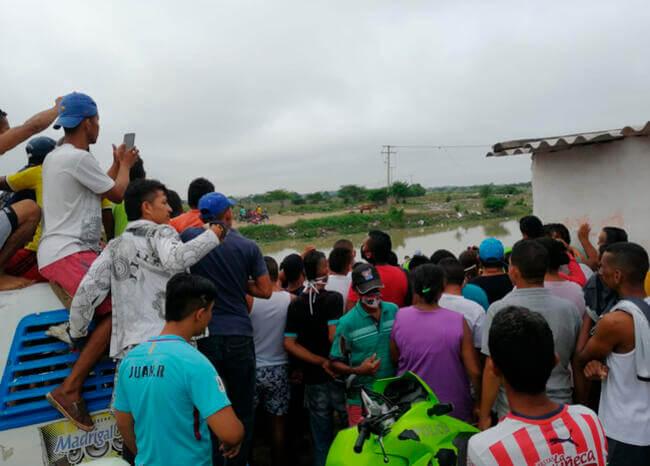 Hallan sin vida a niño que había sido arrastrado por arroyo en Soledad, Atlántico