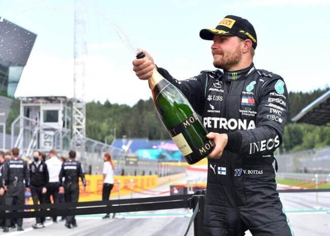 Valteri Bottas continuará en Merdeces para la temporada 2021 de F1