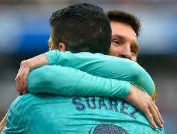 El dardo de Messi al Barcelona en su emotiva despedida a Luis Suárez