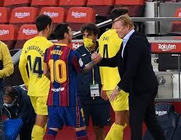 No se quedó callado: Koeman reaccionó a las últimas palabras de Messi en Barcelona