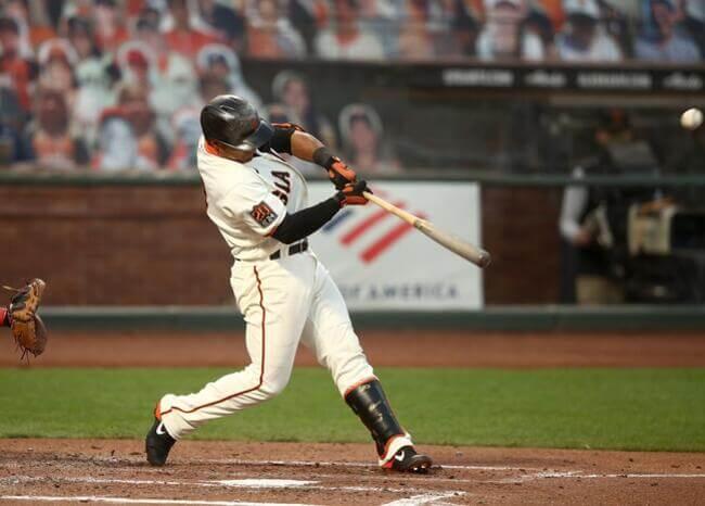 Donovan Solano impulsa 6 carreras con Giants e iguala récord de colombiano en MLB