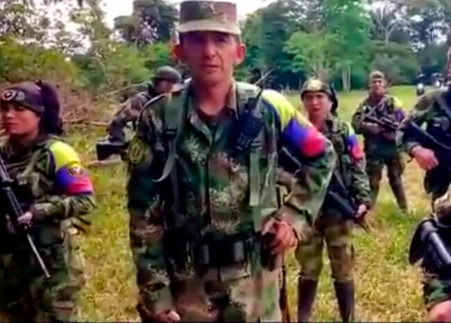 Video extorsivo de disidentes fue grabado en Venezuela: general Fuentes
