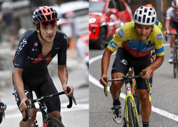 ¡Amistad que se recarga en el Giro! Caicedo y Carapaz, dos viejos conocidos que brillan en Italia