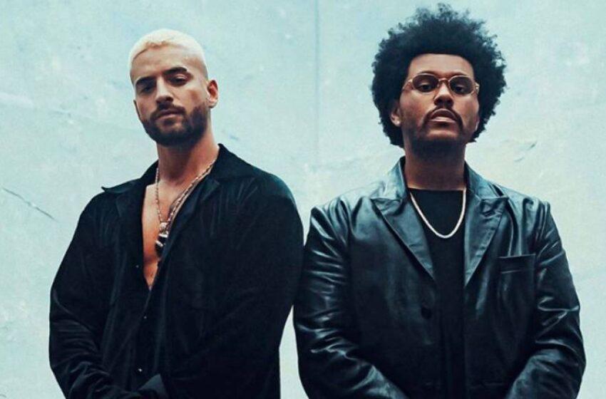 Maluma y The Weeknd se unen en el remix oficial de 'Hawái'
