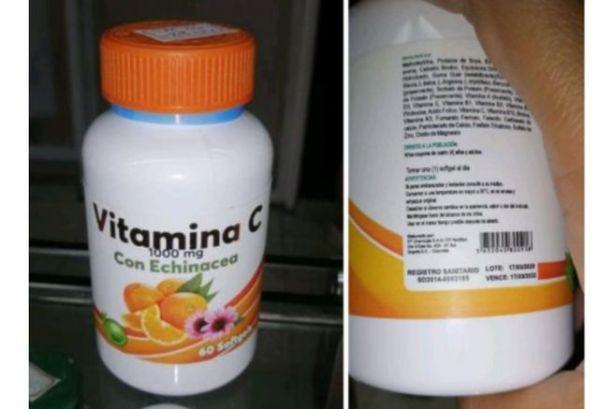 ¡Cuidado! Invima alerta sobre comercialización ilegal de vitamina C