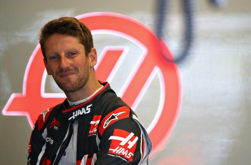El piloto de F1 Romain Grosjean toma con buen humor su recuperación tras su fuerte accidente