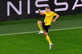 ¡Durísima baja! El delantero del Dortmund Erling Haaland estará fuera de las canchas hasta enero