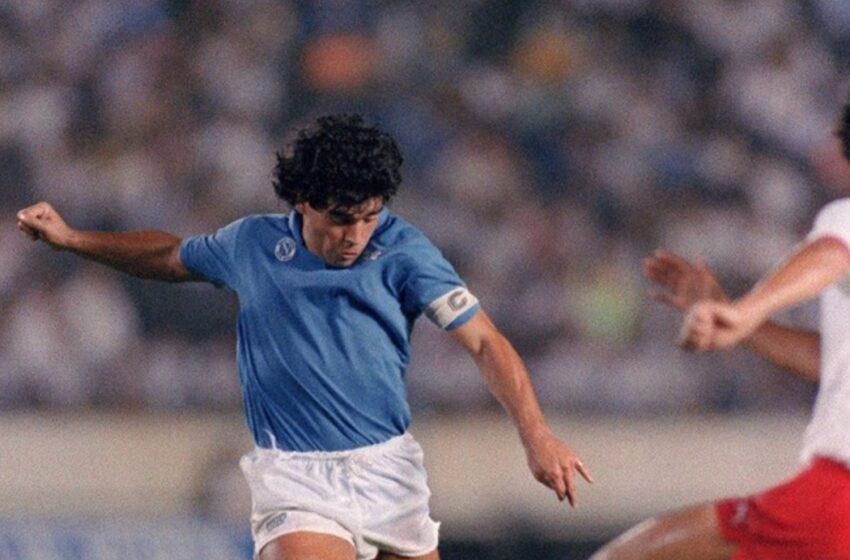 En honor a su ídolo: Nápoles rebautiza su estadio como Diego Armando Maradona
