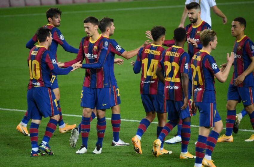Un Barcelona reactivado apunta a la Supercopa de España