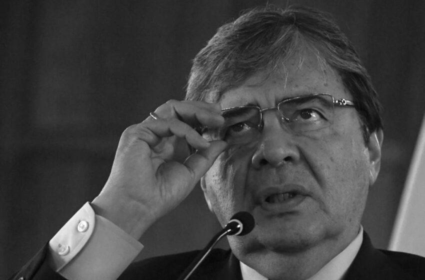 Duque decreta tres días de duelo por muerte del ministro Carlos Holmes Trujillo y víctimas del COVID
