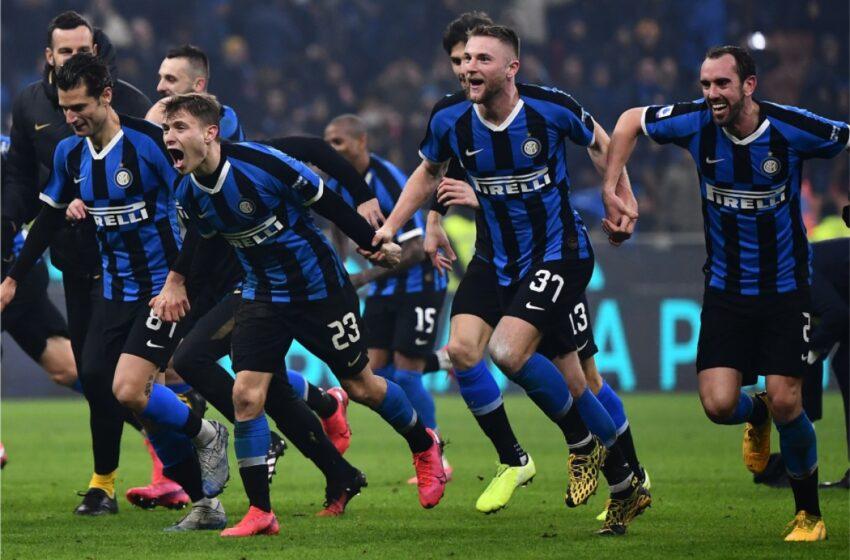 Inter y Milan se medirán en cuartos de final de la Copa de Italia