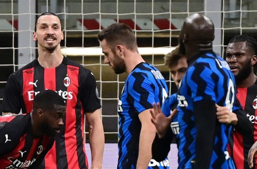 Ibrahimovic y Lukaku, sancionados con un partido tras pelea en encuentro de la Copa Italia