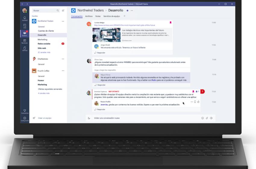 Usuarios de Microsoft Teams ahora podrán compartir archivos de hasta 250 GB de tamaño