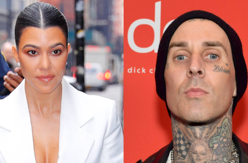 Confirmado! Kourtney Kardashian y Travis Barker, baterista de Blink 182, están juntos