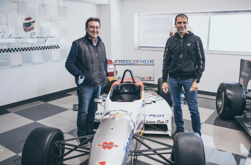 Murió Adrián Campos, expiloto de Fórmula 1 y descubridor de Fernando Alonso