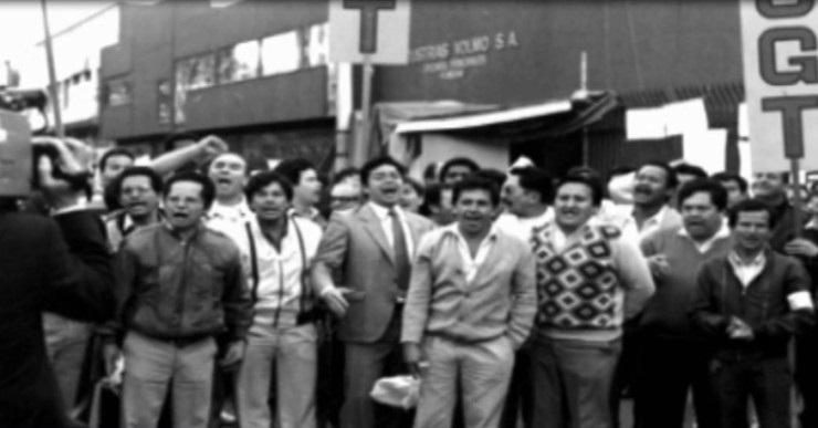 Fotos: La vida sindical de Julio Roberto Gómez