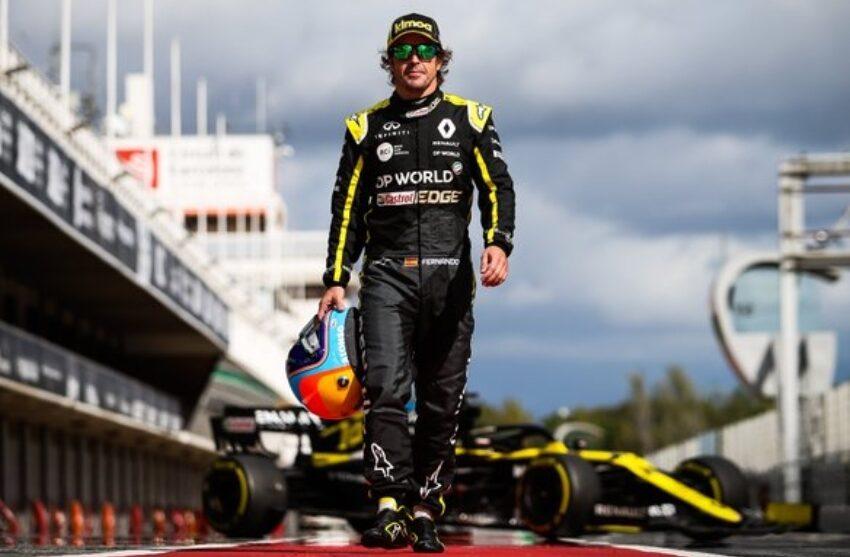 Fernando Alonso, operado con éxito de la mandíbula tras ser arrollado por un carro