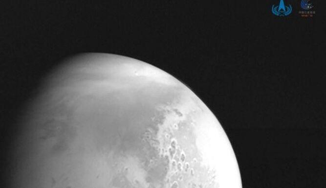 La sonda espacial china envía un video de Marte