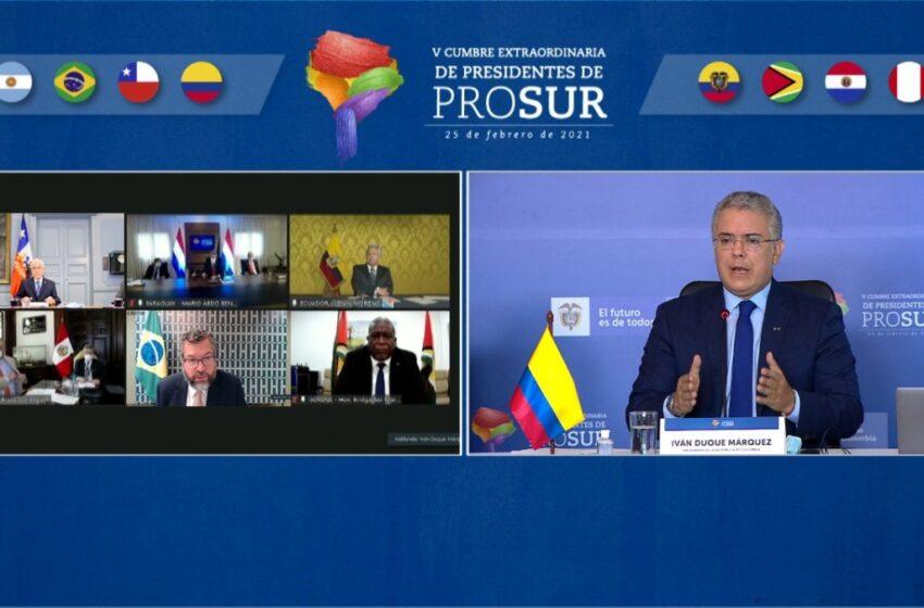 """Presidentes de Suramérica proponen pasaporte """"sanitario digital"""" para vacunados contra el COVID"""