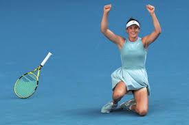 Brady derrota a Muchova y jugará la final femenina del Abierto de Australia contra Osaka