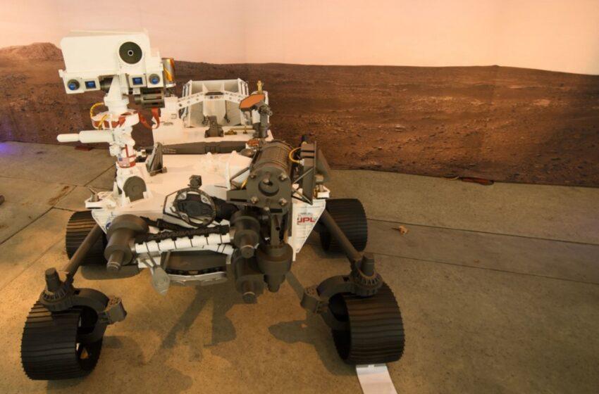 Temperaturas extremas le esperan al Perseverance en Marte