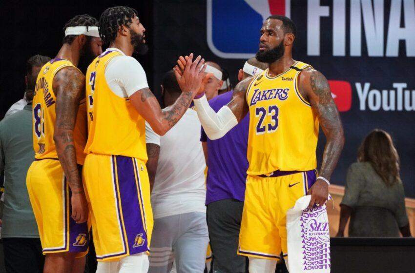 Los Lakers obtuvieron su sexto triunfo consecutivo en la NBA