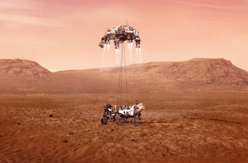Video: así llegará a Marte la sonda espacial Perseverance