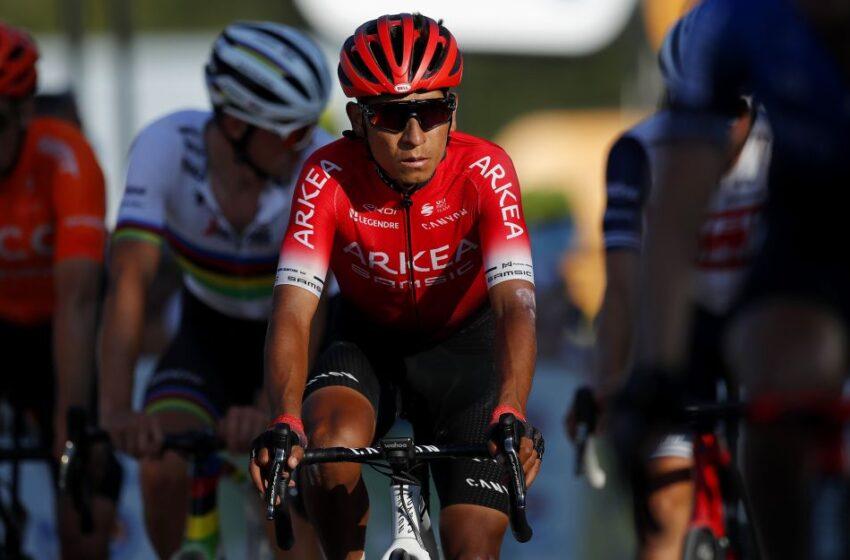Nairo Quintana no estará en el Giro de Italia, su equipo Arkea no fue invitado
