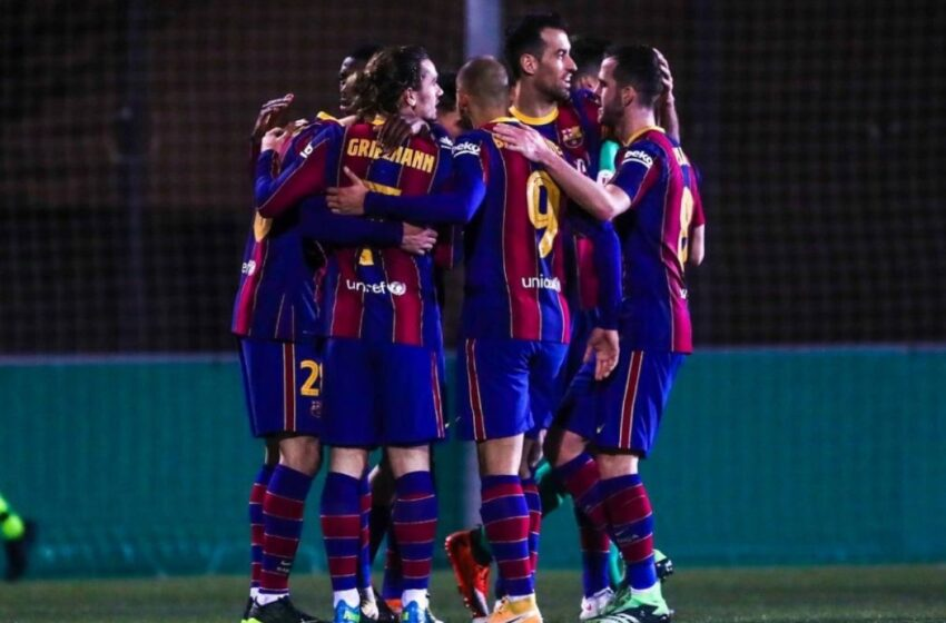 El Barcelona, a remontar en Copa del Rey en medio de la tormenta institucional