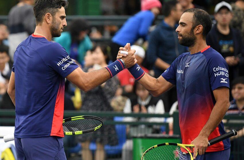 Juan Sebastián Cabal y Robert Farah debutaron con victoria en el Torneo de Doha