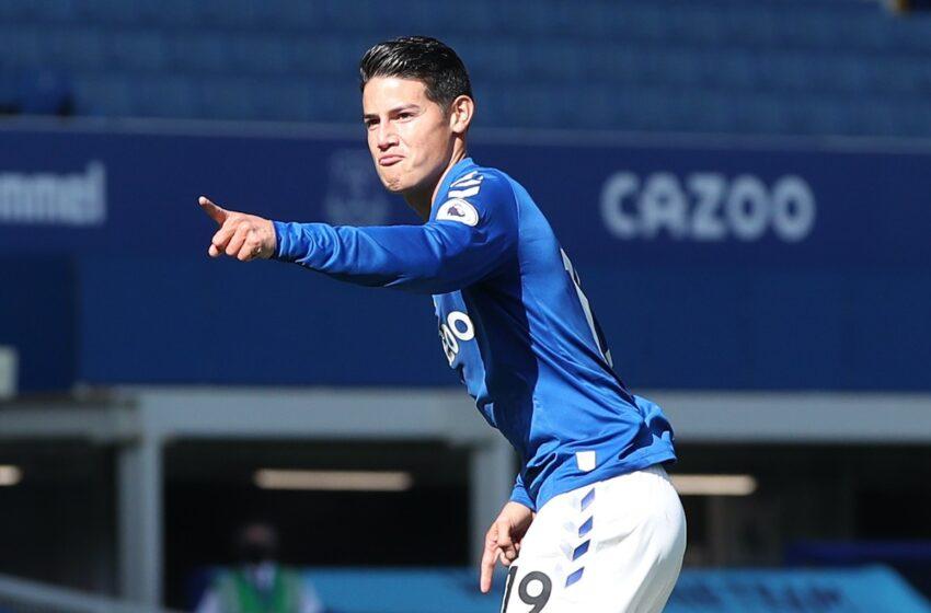 James Rodríguez, entre los 50 mediocampistas más goleadores del siglo XXI, según Transfermarkt