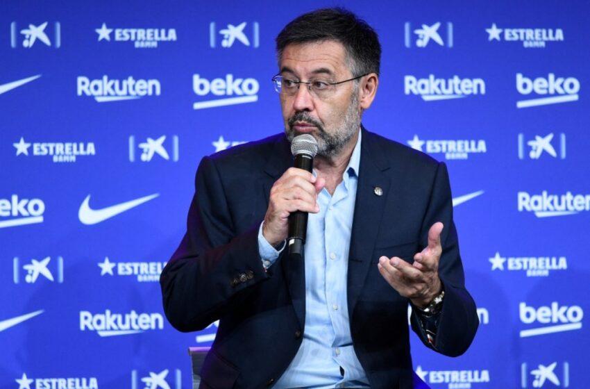 Detienen a Josep Maria Bartomeu, presidente en funciones del Barcelona, según medios
