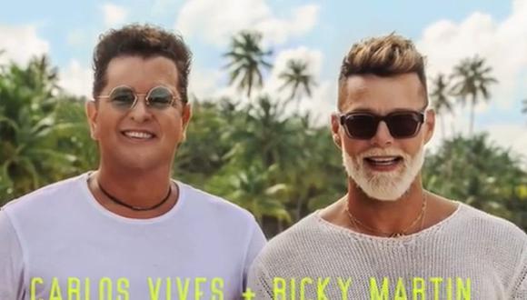 Ricky Martin y Carlos Vives estrenan 'Canción Bonita', una declaración de amor a Puerto Rico