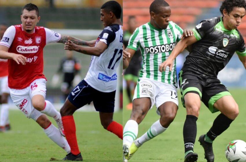 Liga colombiana: Junior mantuvo su ventaja ante Santa Fe y Equidad sorprendió al eliminar a Nacional