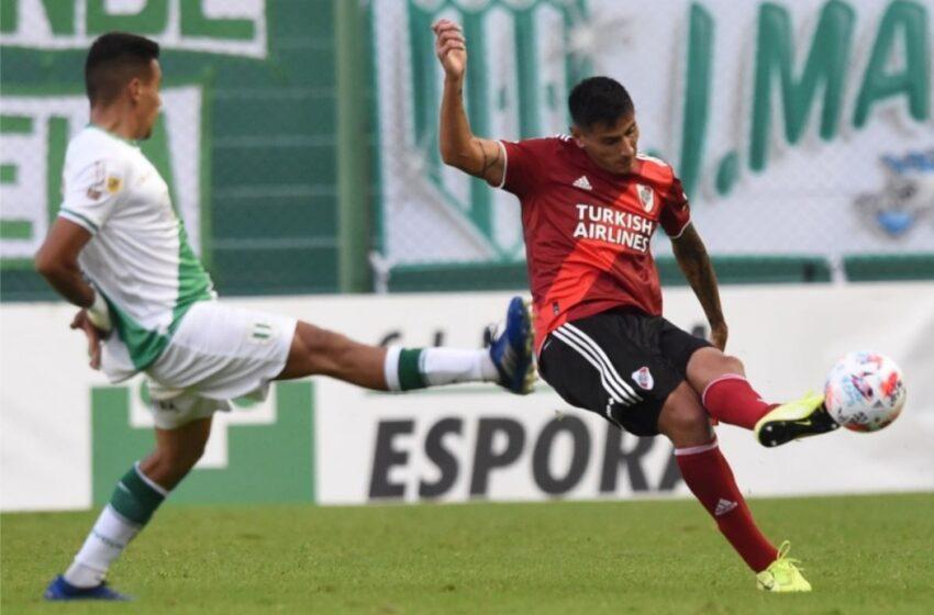Banfield ganó 1-0 a River Plate que contó con Borré y Carrascal