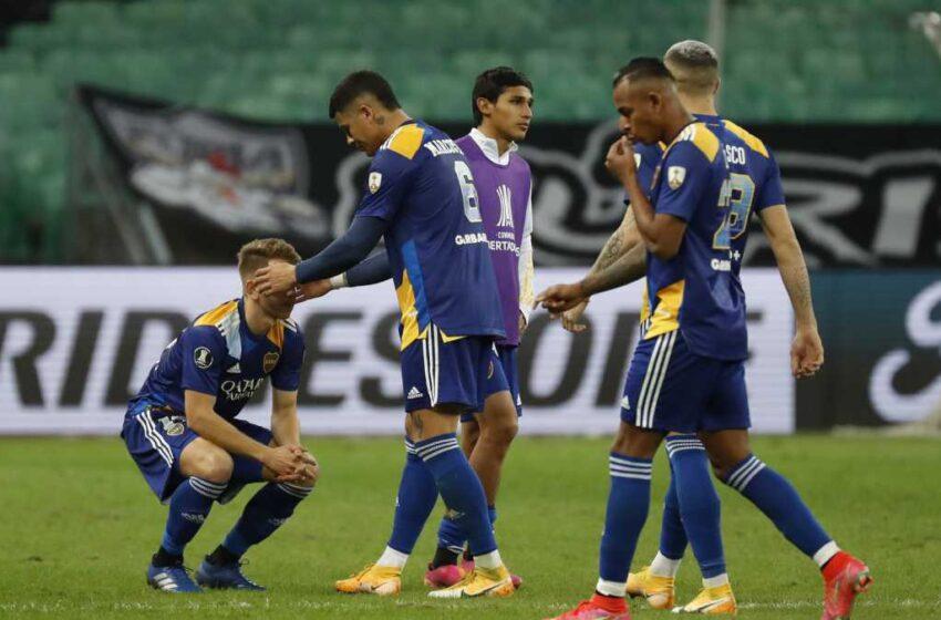 ¿Fuera de lugar? Conmebol revela audio del VAR que anuló gol del Boca ante Atlético Mineiro