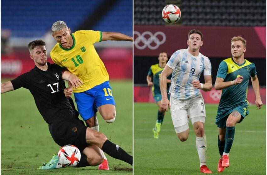 Brasil golea a Alemania en los Juegos Olímpicos, mientras Argentina cae con Australia