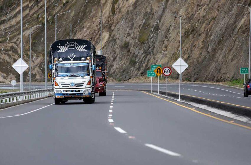 Así están las vías de Colombia para el puente festivo